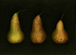 Three pears in a row.
