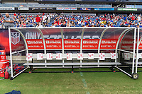 NASHVILLE, TN - SEPTEMBER 5: BioSteel during a game between Canada and USMNT at Nissan Stadium on September 5, 2021 in Nashville, Tennessee.