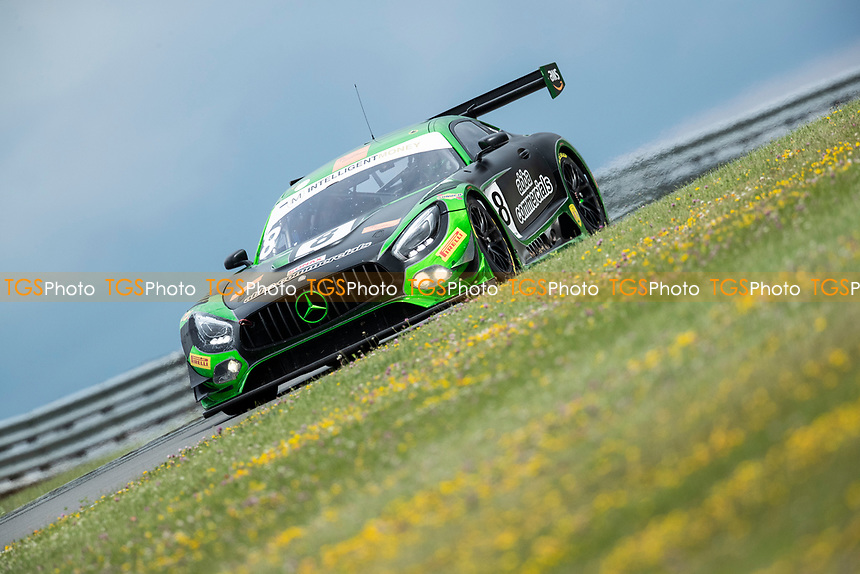 Race winners Richard Neary & Sam Neary, Mercedes AMG GT3, Team Abba Racing during the British GT & F3 Championship on 11th July 2021