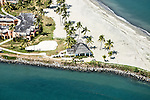Aerial of the Sheraton Resort Chapel on Denarau Island, Fiji