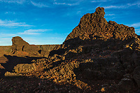 France, île de la Réunion, Parc national de La Réunion, classé Patrimoine Mondial de l'UNESCO, La Plaine des Cafres, La Plaine des Sables, paysage désertique et lunaire   // France, Reunion island (French overseas department), Parc National de La Reunion (Reunion National Park), listed as World Heritage by UNESCO, La Plaine des Cafres, La Plaine des Sables, lunar desert landscape