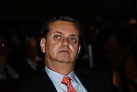 SAO PAULO, SP, 09 AGOSTO 2012 - ABERTURA BIENAL INTERNACIONAL DO LIVRO - Prefeito Gilberto Kassab durante cerimonia de abertura da 22ª  Bienal Internacional do Livro de São Paulo, no Anhembi na regiao norte da capital paulista, nesta quinta-feira, 09. (FOTO: VANESSA CARVALHO / BRAZIL PHOTO PRESS).