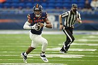 SAN ANTONIO, TX - OCTOBER 24, 2020: The University of Texas at San Antonio Roadrunners defeat the Louisiana Tech University Bulldogs 27-26 at the Alamodome (Photo by Jeff Huehn).