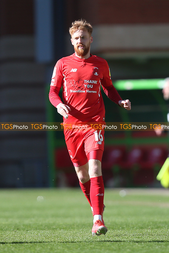 James Brophy of Leyton Orient during Leyton Orient vs Walsall, Sky Bet EFL League 2 Football at The Breyer Group Stadium on 5th April 2021