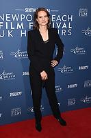 Laura Solon<br /> arriving for the Newport Beach Film Festival UK Honours 2020, London.<br /> <br /> ©Ash Knotek  D3551 29/01/2020