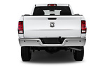 Straight rear view of a 2018 Ram Ram 2500 Pickup Tradesman 4wd Crew Cab LWB 4 Door Pick Up stock images