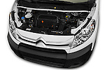 Car Stock 2015 Citroen JUMPY-MULTISPACE Attraction-l2h1 5 Door Combi Engine  high angle detail view