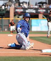 Scott Heineman - Texas Rangers 2020 spring training (Bill Mitchell)