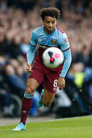 Felipe Anderson of West Ham United during the Premier League match between Everton and West Ham United at Goodison Park on October 19th 2019 in Liverpool, England. (Photo by Daniel Chesterton/phcimages.com)<br /> Foto PHC/Insidefoto <br /> ITALY ONLY