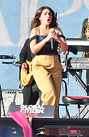 NEW YORK, NY- SEPTEMBER 25: Alessia Cara at the 2021 Global Citizen Live Festival at the Great Lawn in Central Park, New York City on September 25, 2021. Credit: John Palmer/MediaPunch