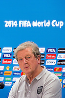 England manager Roy Hodgson during a press conference