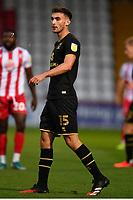 Warren O'Hora of MK Dons F.C. during Stevenage vs MK Dons, EFL Trophy Football at the Lamex Stadium on 6th October 2020