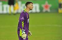 WASHINGTON, DC - SEPTEMBER 27: Matt Turner #30 of New England Revolution during a game between New England Revolution and D.C. United at Audi Field on September 27, 2020 in Washington, DC.