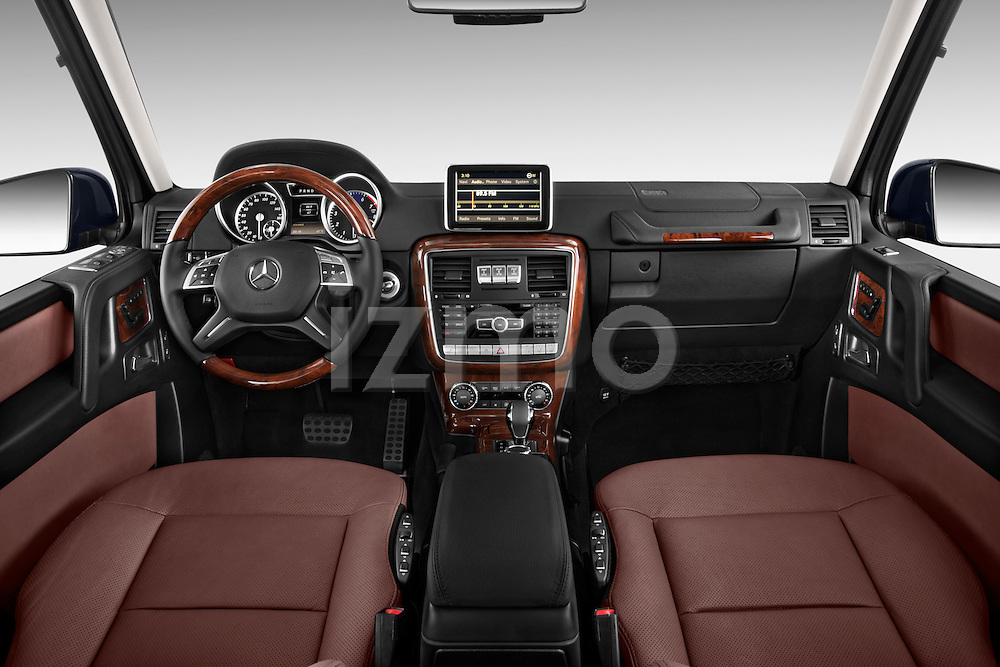 2013 Mercedes-Benz G-Class G550 SUV Straight Dashboard View