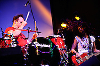 Cowboy Mouth in Mardi Gras concert at VooDoo Lounge of Harrah's Casino in Maryland Heights, MO on Feb 20, 2009.