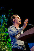 Friday 30 May 2014, Hay on Wye, UK<br /> Pictured: Benedict Cumberbatch<br /> Re: Hay Festival, Hay on Wye, Powys, Wales