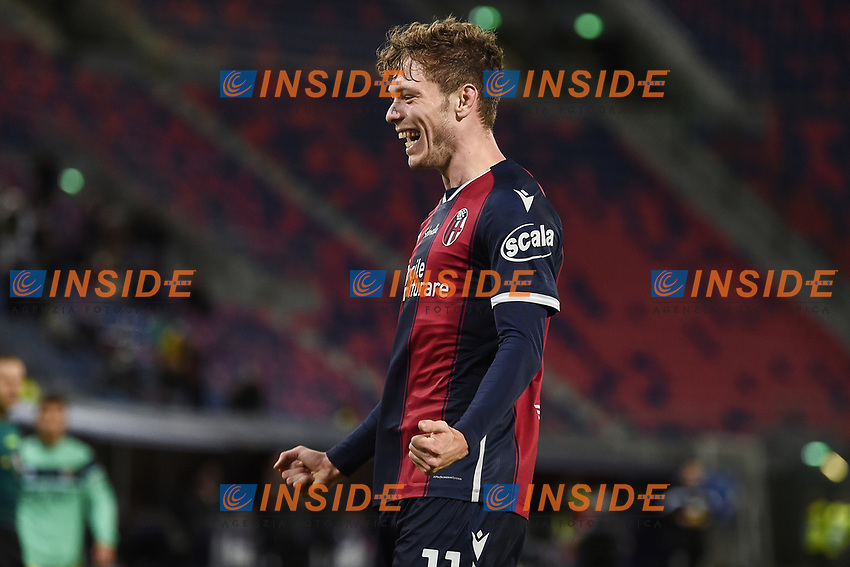 Andreas Skov Olsen <br /> during the Serie A football match between Bologna FC and Parma Calcio 1913 at stadio Renato Dall Ara in Bologna (Italy), September 28th, 2020. Photo Image Sport / Insidefoto