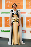 Natalia Millan poses for the photographers during 2015 Theater Ceres Awards photocall at Merida, Spain, August 27, 2015. <br /> (ALTERPHOTOS/BorjaB.Hojas)