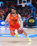 Valencia BC's  Rafa Martinez  during ACB match. November 29, 2015. (ALTERPHOTOS/Javier Comos)