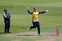 Simon Harmer in bowling action for Essex during Hampshire Hawks vs Essex Eagles, Vitality Blast T20 Cricket at The Ageas Bowl on 16th July 2021