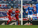 25.02.2021 Rangers v Royal Antwerp: Lior Refaelov grabs the ball after equalising on the night