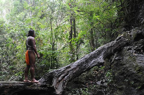 Indígena Emberá en Panamá