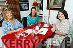 Betty Lenihan, Edel Ahern and Christina O'Connor enjoying the evening in Cassidys on Thursday.