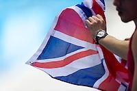 Supporters<br /> London, Queen Elizabeth II Olympic Park Pool <br /> LEN 2016 European Aquatics Elite Championships <br /> Diving<br /> Men's 3m springboard final <br /> Day 04 12-05-2016<br /> Photo Giorgio Perottino/Deepbluemedia/Insidefoto