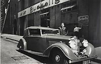 Phillip Bushells Bentley and Factory, Harrington Street, Sydney, 1936 - 1937, photographer unknown,