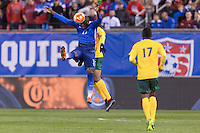 St. Louis, Mo. - Friday, November 13, 2015: The USMNT go on to defeat St. Vincent and the Grenadines 6-1 in their 2018 FIFA World Cup Qualifying match at Busch Stadium.