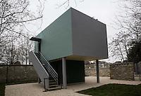 Poissy- Le Corbusier Villa Savoye la casa del custode