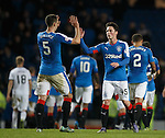 Jordan Thompson and Lee Wallace at full time