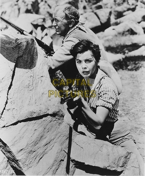 SCENE<br /> in Four Guns to the Border (1954) <br /> *Filmstill - Editorial Use Only*<br /> CAP/NFS<br /> Image supplied by Capital Pictures
