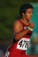 4 May 2008: Stanford Cardinal Zach Chandy during Stanford's Payton Jordan Cardinal Invitational at Cobb Track & Angell Field in Stanford, CA.
