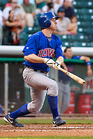 May 18, 2009:  Doug Deeds of the Iowa Cubs, Pacific Cost League Triple A affiliate of the Chicago Cubs, during a game at the Spring Mobile Ballpark in Salt Lake City, UT.  Photo by:  Matthew Sauk/Four Seam Images