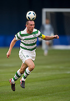 July 16, 2010 Scott Brown No. 8 of Celtic FC  during an international friendly between Manchester United and Celtic FC at the Rogers Centre in Toronto.