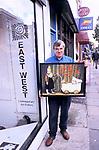 DAVID SOLOMON, EAST WEST GALLERY, 1999 1990s UK