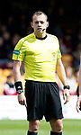 Motherwell v St Johnstone…05.05.18…  Fir Park    SPFL<br />Referee Gavin Duncan<br />Picture by Graeme Hart. <br />Copyright Perthshire Picture Agency<br />Tel: 01738 623350  Mobile: 07990 594431