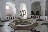 Stone Town, Zanzibar, Tanzania.  The Hamamni Baths, first public bath house in Zanzibar.  19th. century.