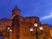 Festung Narikala, Tiflis – Tbilissi, Georgien, Europa<br /> fortress Narikala, Tbilisi, Georgia, Europe