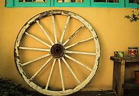 Hacienda Wheel - Taos, New Mexico