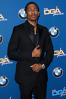 CENTURY CITY, CA - JANUARY 25: Nick Cannon at the 66th Annual Directors Guild Of America Awards held at the Hyatt Regency Century Plaza on January 25, 2014 in Century City, California. (Photo by Xavier Collin/Celebrity Monitor)