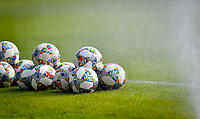 illustration pictured showing balls before a friendly soccer game between the national teams Under19 Youth teams of Belgium and Germany on tuesday 8 th of September 2020  in Genk , Belgium . PHOTO SPORTPIX.BE | SPP | DAVID CATRY