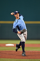 Charlotte Stone Crabs pitcher Blake Snell (11) delivers a pitch during a game against the Bradenton Marauders on April 20, 2015 at McKechnie Field in Bradenton, Florida.  Charlotte defeated Bradenton 6-2.  (Mike Janes/Four Seam Images)