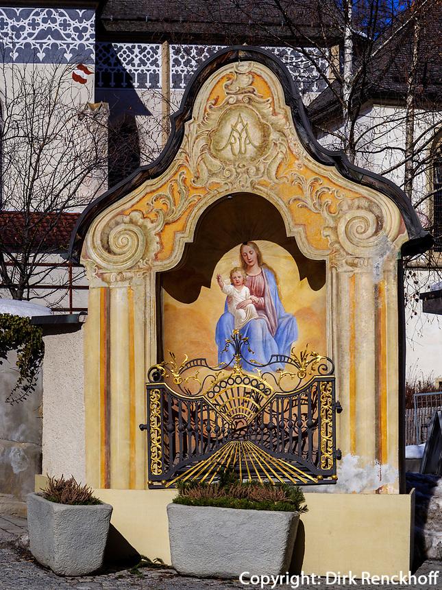 Pfarrkirche Mariä Himmelfahrt in Imst, Tirol, Österreich, Europa<br /> parish church of the Assumption of Mary, Imst, Tyrol, Austria, Europe