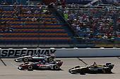 Will Power, Team Penske Chevrolet, Tony Kanaan, A.J. Foyt Enterprises Chevrolet, James Hinchcliffe, Schmidt Peterson Motorsports Honda