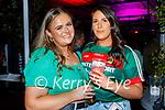 Enjoying the evening in Scotts in Killarney on Saturday, l to r: Ellie Kerins (Scartaglin) and Joanne McCarthy (Castlebar).