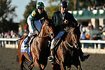 October 9, 2010: Ramon Dominguez and Gio Ponti take the G1 Shadwell Turf Mile at Keeneland Race Course in Lexington, Kentucky.
