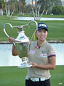 Sun Young Yoo wins the 2012 Kraft Nabisco Championship, picture Joyce Hunnam,  www.golftourimages.com: 1st April 2012