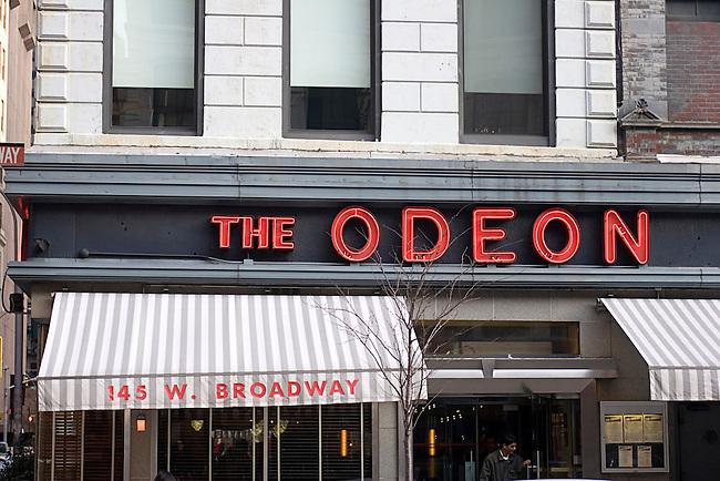 The Odeon Restaurant, Lower Manhattan, New York, New York